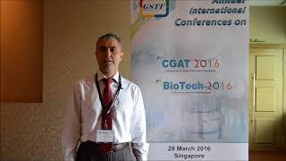 (BIOTECH 2016) - Prof. Ramazan Bilgin Testimonial