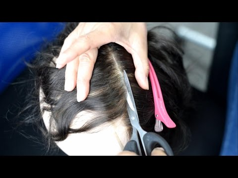 How to Cut the Base of A Hair System Down to Size