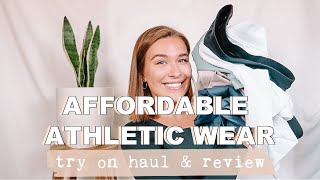 AFFORDABLE ATHLETIC WEAR TRY ON HAUL & REVIEW | Musesonly