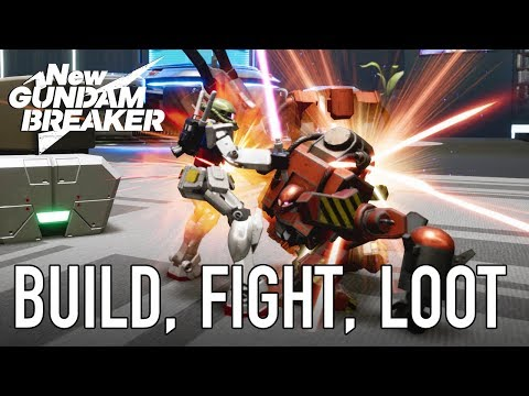 New Gundam Breaker – PS4 – Build, Fight, Loot