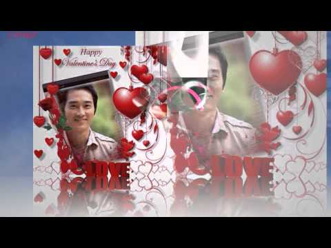 SONG SEUNG HEON /송승헌 /  VALENTINE LOVE CARDS