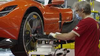 Ferrari: Si ritorna al lavoro negli stabilimenti di Maranello