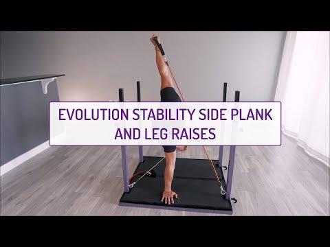Evolution Stability Side Planks and Leg Raises