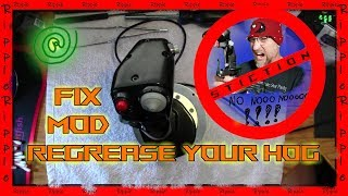 Best Warthog Stiction Fix,ThrustMaster HOTAS NEW,Complete Disassembly, Grease Replacement,