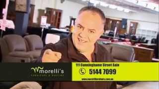 preview picture of video 'Morelli's Furniture & Bedtime Massive 20% Off Sale'