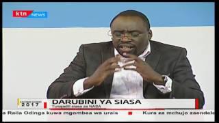 Kinyang'anyiro 2017-Seneta Stephen Sang' amukosoa Gavana Isaac Ruto kwa uamuzi wake kuungana na NASA
