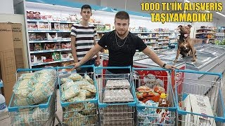 Köpeklerime Kasap ve A101'den ''1000 TL'' LİK ALIŞVERİŞ YAPTIM!!