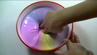 Rengarenk Slime Yapımı Glossy Slime [How To Make a Slime? ]