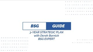 Business Strategy Game   3 Year Strategic Plan Assignment Guide   With BSG Game Expert Derek Barnick