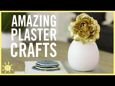 DIY | 3 Amazing Plaster Crafts
