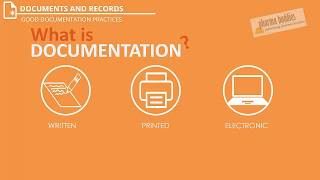 Best Video on Good Documentation Practices - Documents and Records | GxP | GMP, Part 1/4