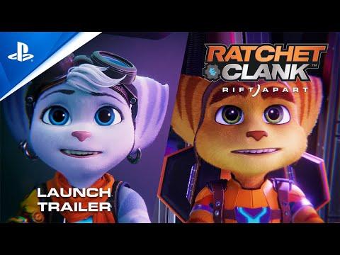 Bande-annonce de lancement (VO) de Ratchet & Clank : Rift Apart