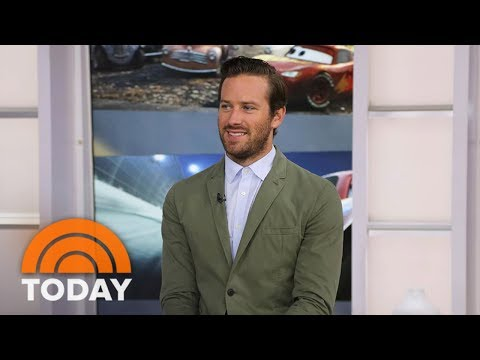 Armie Hammer Of 'Cars 3': My Daughter Was Conceived At Kathie Lee's House | TODAY