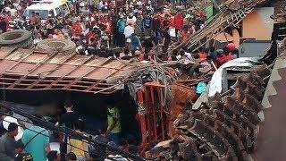 Kecelakaan Maut 11 Orang Tewas di Bumiayu, Truk Tabrak 4 Bangunan, 16 Motor dan 1 Mobil