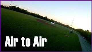 My First Time Chasing an RC Airplane FPV