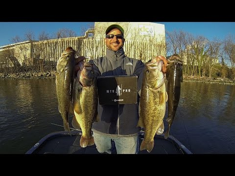 Miracle Bait In The February Mtb Pro Box Smashes Some Bass Winter Bass Fishing Potomac River Play