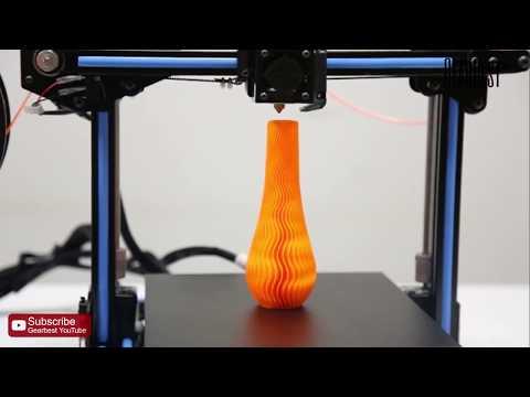 Anet E10 Aluminum Frame 3D Printer - Gearbest com