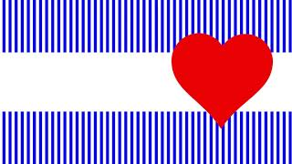 Free Simple Hipster Love Romantic Stripes Heart Shaped | Title Box Background #34