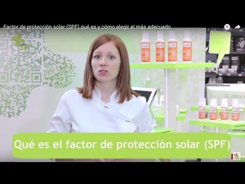 Factor de protección solar (SPF) qué es y cómo elegir el más adecuado