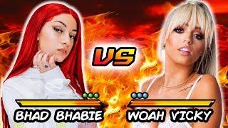 Bhad Bhabie VS. Woah Vicky | Versus | Atlanta Studio Fight