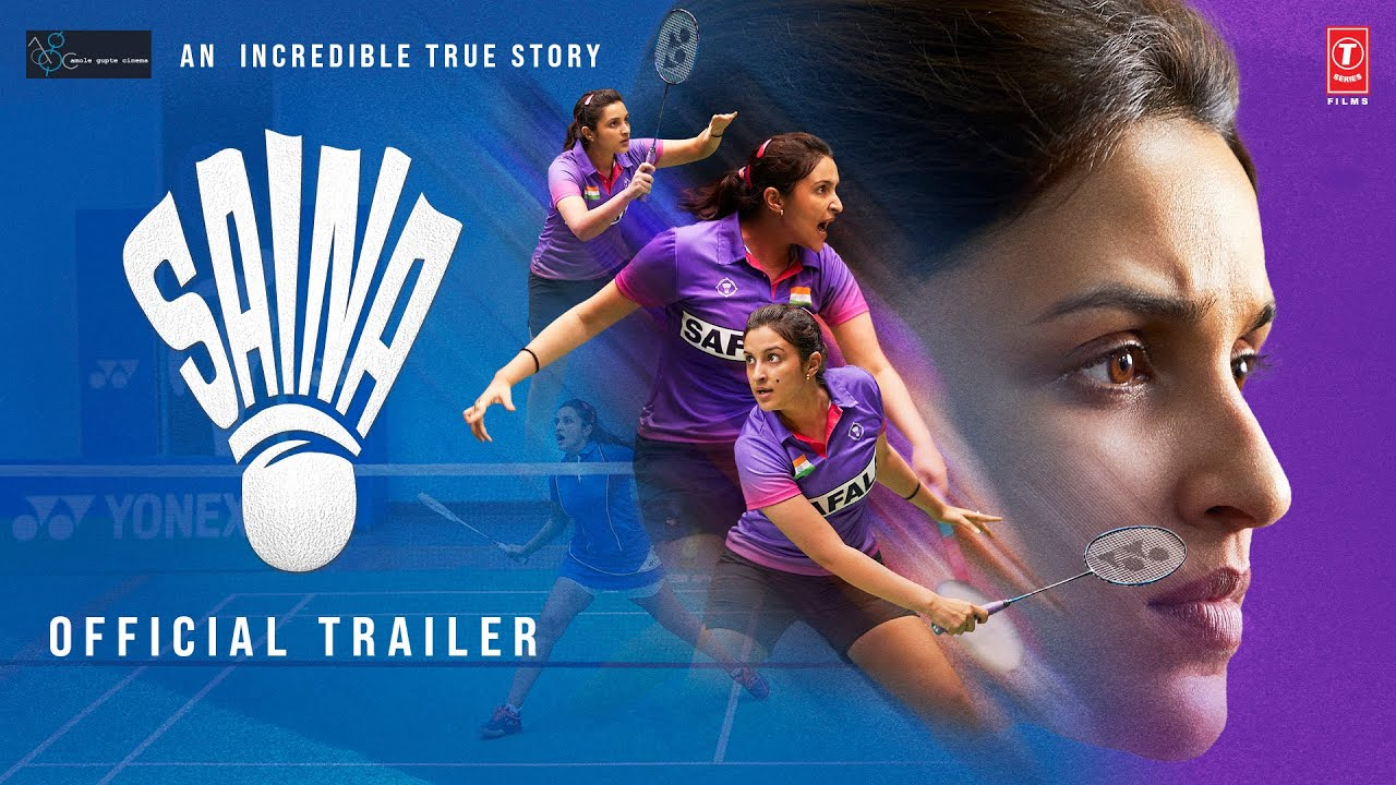 Saina: Official Trailer   Parineeti Chopra   Bhushan Kumar   Releasing 26 March 2021