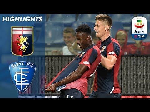 Genoa 2-1 Empoli | Two First Half Goals earn win for Genoa against Empoli | Serie A