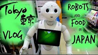 Роботи продавачи и странна храна в Токио/Ася Енева/Robots and Food in Tokyo/Asya Eneva