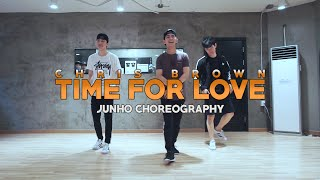JUNHO Class | Time For Love @chrisbrown | Soul Dance Studio 쏘울댄스