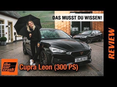 Cupra Leon VZ (2021) Das ALLES kann der kompakte Spanier mit 300 PS! Fahrbericht | Review | Test