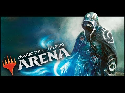 Download Blue 50 50 Magic The Gathering Arena Beta Gameplay 4 Video