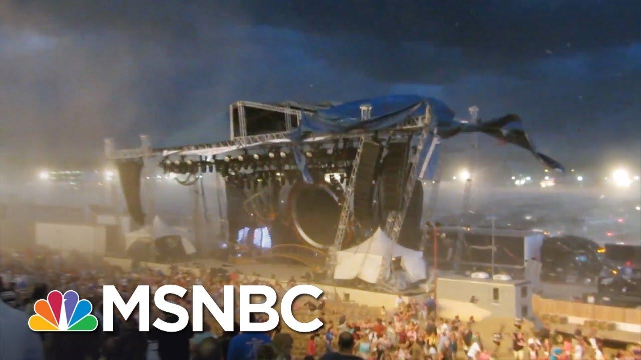 Surviving A Stage Collapse (Web Exclusive) | Split Second Decision | MSNBC thumbnail