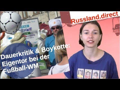 Fußball-WM: Dauerkritik & Boykotte als Eigentor [Video]