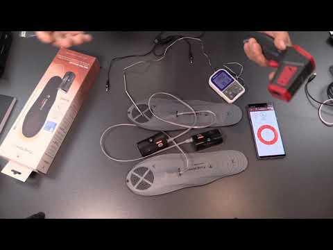 Beheizbare Sohlen Therm-ic Heat Flat mit C-Pack 1300 B und App via Bluetooth