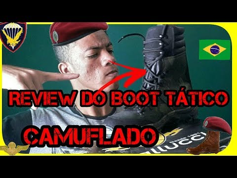 Review do Boot TATICO CAMUFLADO SAPATO AVENTURA