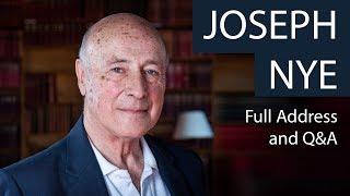 Joseph Nye | Full Address and Q&A | Oxford Union