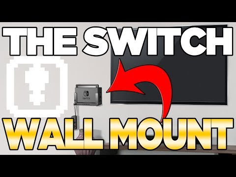 Nintendo Switch Dock WALL MOUNT by TotalMount Review! | Austin John Plays