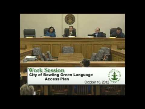 10/16/12 Board of Commissioners Work Session