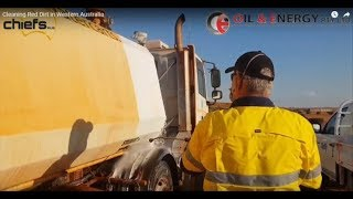Cleaning Red Dirt in Western Australia