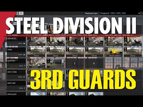 3RD GUARDS! Steel Division 2 Battlegroup BETA Preview #12