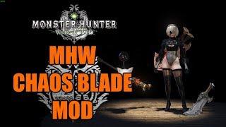 MHW Chaos Blades
