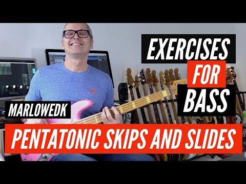 Pentatonic Slide exercise with TAB