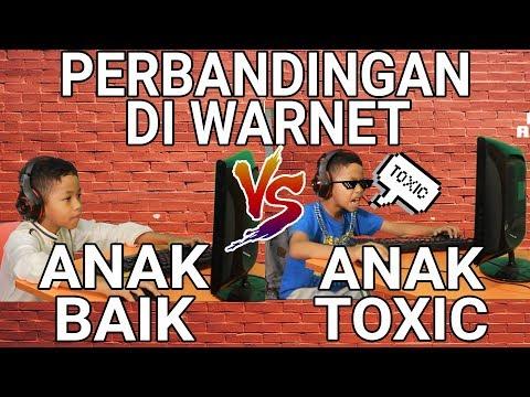 PERBANDINGAN ANAK BAIK VS TOXIC DI WARNET
