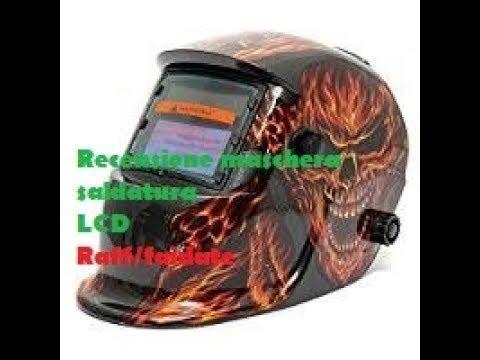 Maschera automatica LCD per saldatura