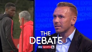 How can Pogba and Mourinho's feud be resolved?   The Debate   Bellamy & Murphy