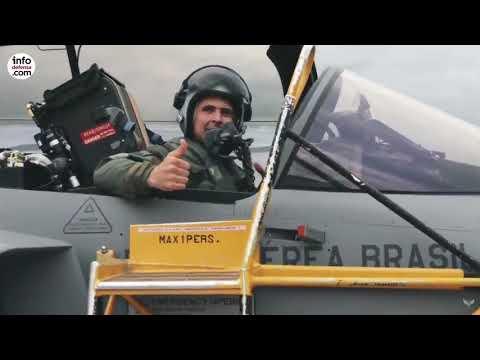 La Fuerza Aérea Brasileña presenta oficialmente su nuevo avión F-39 Gripen