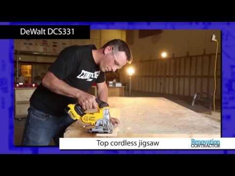 Renovation Contractor Top Cordless Jigsaw Tool Test: DeWalt DCS331
