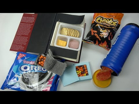 5 Smart Ways To Sneak Food And Candy Into Class When You're Hungry - School Life Hacks