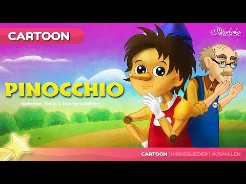Pinocchio Gute Nacht kinder geschichte - Märchen für Kinder und Gute Nacht Geschichte