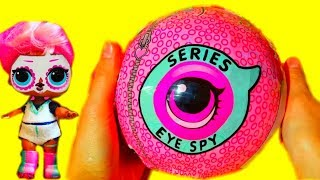 ГИГАНТСКИЙ ЛОЛ/LOL ДЕКОДЕР UNDER WRAPS КРУТАЯ ПОДДЕЛКА Челлендж! New LOL Surprise Blind Bags Eye Spy
