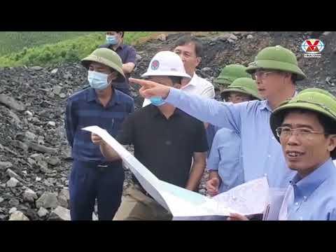 Tổng Giám đốc Tập đoàn kiểm tra công tác môi trường và phòng chống mưa bão khu vực Cẩm Phả